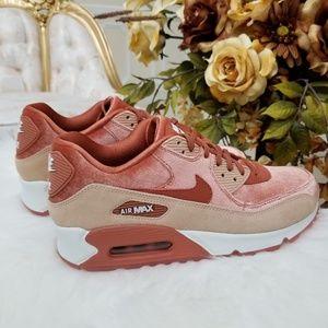 new concept 109e1 cbf9d Nike Shoes - Nike Air Max 90 LX Velvet Dusty Peach